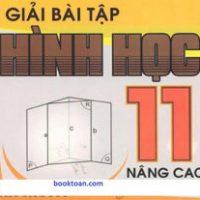GIẢI BÀI TẬP HÌNH HỌC 11 NÂNG CAO