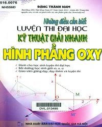 giải nhanh hình phẳng Oxy