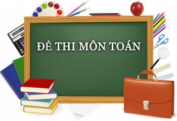 de-thi-mon-toan