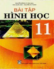 Sách bài tập Hình học 11 cơ bản