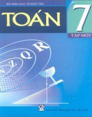 Sách giáo khoa toán 7 tập 1