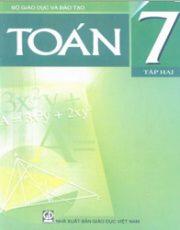 Sách giáo khoa toán 7 tập 2