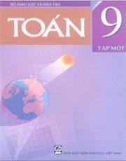 Sách giáo khoa toán 9 tập 1