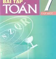 Sách bài tập toán 7 tập 1