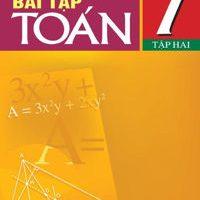Sách bài tập toán 7 tập 2