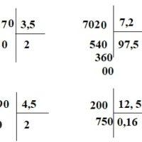 Giải bài Chia một số tự nhiên cho một số thập phân – Toán 5 trang 69 – 70