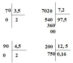 Giải bài Chia một số tự nhiên cho một số thập phân - Toán 5 trang 69 - 70