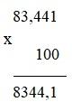 Giải bài Nhân một số thập phân với 10, 100, 1000,...- Toán 5 trang 57