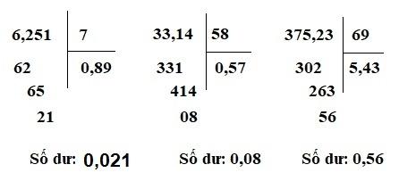 Giải bài luyện tập chung - Toán 5 trang 72