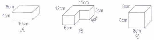 Giải bài tập Hình hộp chữ nhật. Hình lập phương - Toán 5 trang 108