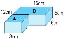Giải bài tập Thể tích hình hộp chữ nhật - Toán 5 trang 120