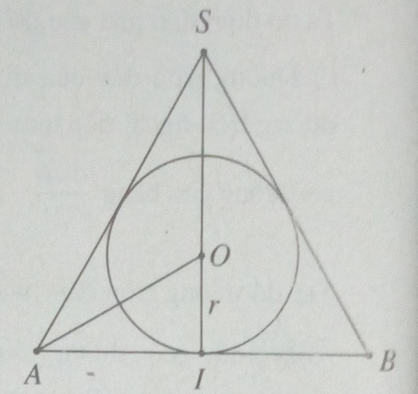 Đề kiểm tra SBT hình học 12 chương 2 MẶT NÓN , MẶT TRỤ, MẶT CẦU