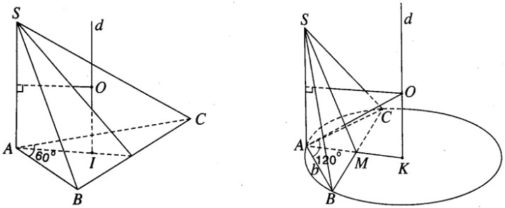 Giải SBT hình học 12 chương 2 bài 2 Mặt cầu