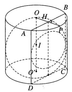 Giải SBT Hình học 12: Đề toán tổng hợp – chương 2: Mặt nón, mặt trụ, mặt cầu