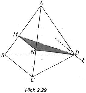 Giải SBT Bài 2 Hai đường thẳng chéo nhau và hai đường thẳng song song - chương 2 hình học 11