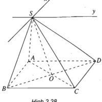 Giải SBT Bài 2 Hai đường thẳng chéo nhau và hai đường thẳng song song – chương 2 hình học 11