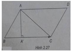 Giải SBT Bài 2: Tích vô hướng của hai vec tơ – Chương 2 – Hình học 10