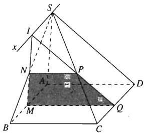 Giải SBT Bài 3. Đường thẳng và mặt phẳng song song  chương 2 hình học 11