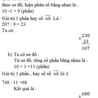 Bài Luyện tập chung trang 177