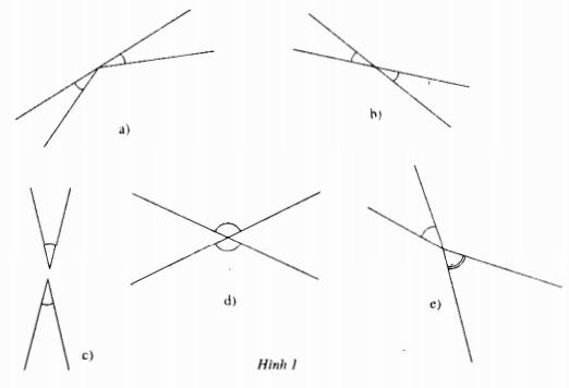 Bài 1 hai góc đối đỉnh – Chương 1 Hình học SBT Toán 7