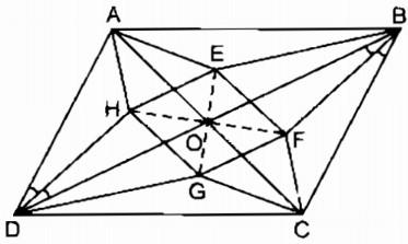 Bài 11 hình thoi – Chương 1 Hình học SBT Toán 8 tập 1
