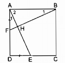 Bài 12 hình vuông – Chương 1 Hình học SBT Toán 8 tập 1