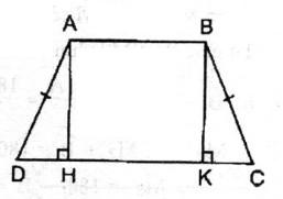 Bài 3 hình thang cân - Chương 1 Hình học SBT Toán 8 tập 1