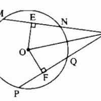 Bài 3 Liên hệ giữa dây và khoảng cách từ tâm đến dây - Sách bài tập Toán 9 tập 1