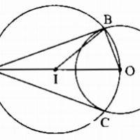 Bài 5 Dấu hiệu nhận biết tiếp tuyến của đường tròn - Sách bài tập Toán 9 tập 1