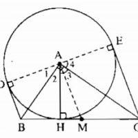 Bài 6 Tính chất của hai tiếp tuyến cắt nhau – Giải bài 56 → 63, 6.1, 6.2 – Sách bài tập Toán 9 tập 1
