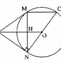 Bài 6 Tính chất của hai tiếp tuyến cắt nhau - Giải bài 48 -> 55 - Sách bài tập Toán 9 tập 1