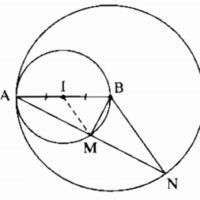 Bài 8 Vị trí tương đối của hai đường tròn (tiếp theo) - Sách bài tập Toán 9 tập 1