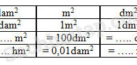 (VBT Toán 5) – Bài 146. Ôn tập về đo diện tích