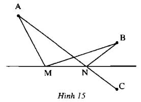 Bài 8: Khi nào thì AM + MB = AB? – Chương 1 Hình học SBT Toán 6