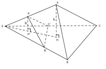 Giải bài tập Bài 3. Khái niệm về thể tích của khối đa diện – SGK hình học 12 cơ bản