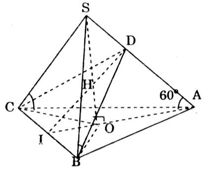 Giải bài tập Bài 5-8 Ôn Chương 1 – SGK hình học 12 cơ bản