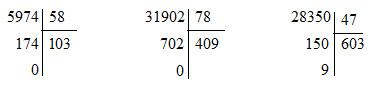 Bài 77. Thương có chữ số 0 - VBT Toán 4