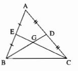 Bài 4: Tính chất ba đường trung tuyến của tam giác – Chương 3 Hình học SBT Toán 7