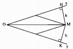 Bài 5: Tính chất tia phân giác của một góc – Chương 3 Hình học SBT Toán 7