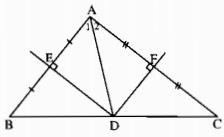Bài 7: Tính chất đường trung trực của một đoạn thẳng – Chương 3 Hình học SBT Toán 7