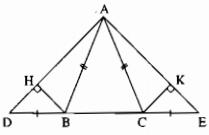 Bài 8: Các trường hợp bằng nhau của tam giác vuông – Chương 2 Hình học SBT Toán 7