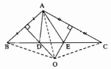 Bài 8: Tính chất ba đường trung trực của tam giác – Chương 3 Hình học SBT Toán 7