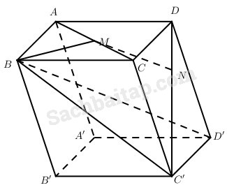 Bài 1. Vectơ trong không gian. Sự đồng phẳng của các vectơ – Giải SBT Chương III Hình học 11 nâng cao