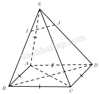 Bài 2. Hai đường thẳng vuông góc – Giải SBT Chương III Hình học 11 nâng cao