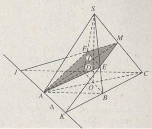 Bài 3: Đường thẳng song song với mặt phẳng – Giải SBT Chương II Hình học 11 nâng cao