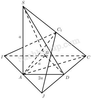 Bài 3. Đường thẳng vuông góc với mặt phẳng – Giải SBT Hình học 11 nâng cao