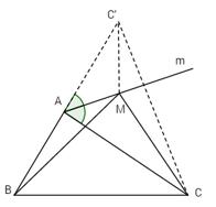 Bài 3: Phép đối xứng trục – Giải SBT Chương I Hình học 11 nâng cao