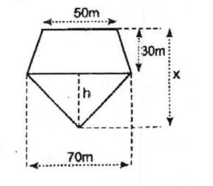 Bài 4: Diện tích hình thang – Chương 2 Hình học SBT Toán 8
