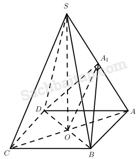Bài 4. Hai mặt phẳng vuông góc – Giải SBT Hình học 11 nâng cao