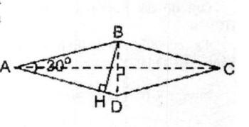 Bài 5: Diện tích hình thoi – Chương 2 Hình học SBT Toán 8